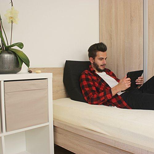 bequem im bett lesen oder mit tablet surfen mit dem salosan lesekissen. Black Bedroom Furniture Sets. Home Design Ideas