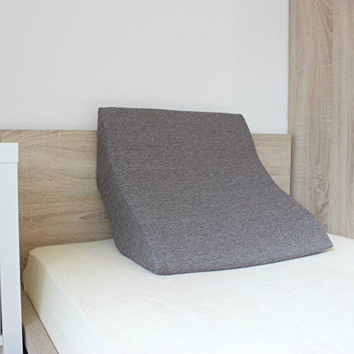 bequem im bett lesen oder mit tablet surfen mit dem salosan lesekissen. Black Bedroom Furniture Sets. Home Design Ideas