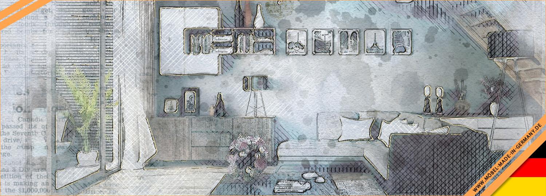 neues wohnprogramm gw senja von germania im. Black Bedroom Furniture Sets. Home Design Ideas