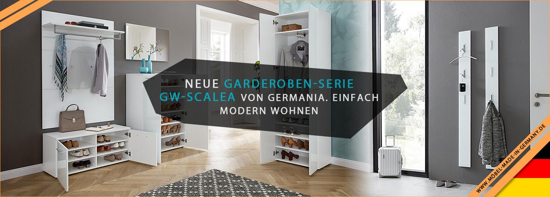 Neue Garderoben-Serie GW-Scalea von Germania