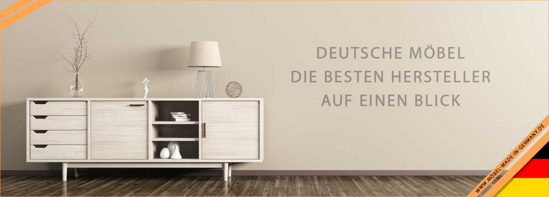 Neue Kommoden von Germania mit Glasfronten