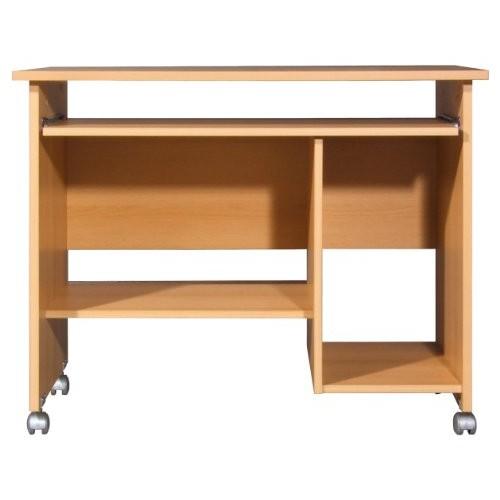 kleine pc tische auf rollen f r ihr wg zimmer. Black Bedroom Furniture Sets. Home Design Ideas