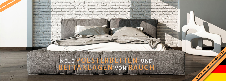 Polsterbetten und Bettanlagen von Rauch