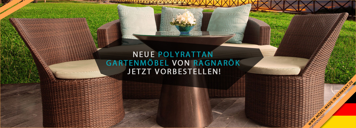 neue polyrattan gartenm bel von ragnar k im angebot. Black Bedroom Furniture Sets. Home Design Ideas