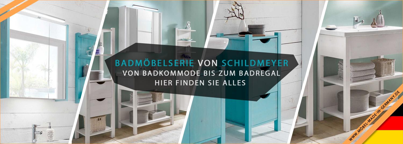 Badmöbelserie Paulina vom Hersteller Schildmeyer