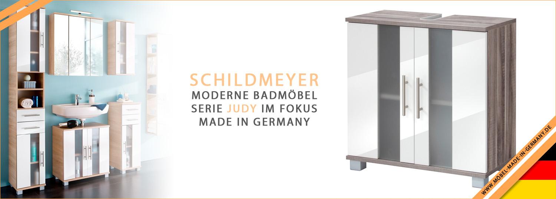 Schildmeyer Badmöbel Serie Judy im Fokus