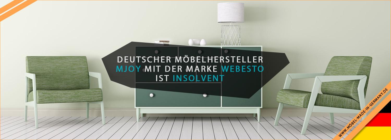 Deutscher Möbelhersteller Mjoy Mit Der Marke Webesto Ist Insolvent
