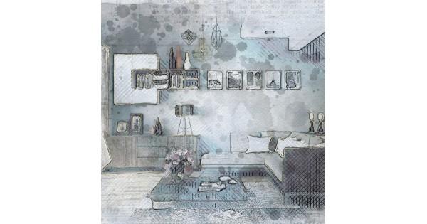 neues wohnprogramm gw senja von germania im skandinavischen design. Black Bedroom Furniture Sets. Home Design Ideas