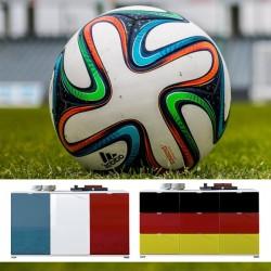 Colorado Möbel in EM Farben von Germania - Kommoden und Schuhschränke in EM Länderfarben